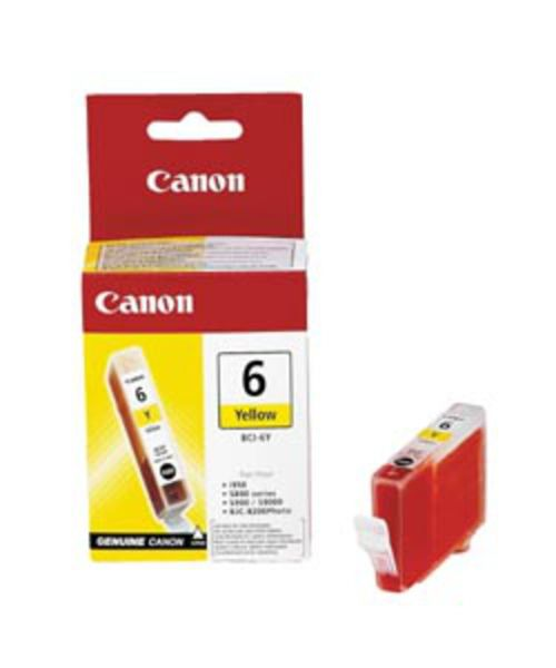 Canon Tintenpatrone BCI-6Y gelb (ca. 280 Seiten)
