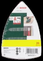 Bosch 25 Schleifblätter für Multischleifer Körnung 40-180 10