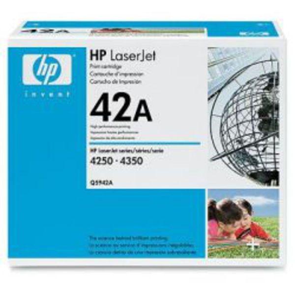 HP Toner Q5942A Schwarz (ca. 10000 Seiten)