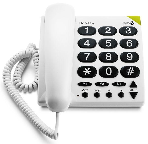 Doro PhoneEasy® 311c weiß