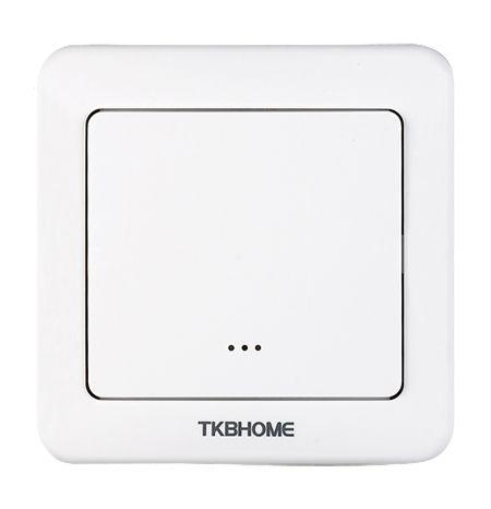 TKB Home Wanddimmer mit Einfach-Wippe (Abgerundete Ecken)