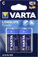 1x2 Varta Longlife Power Baby C