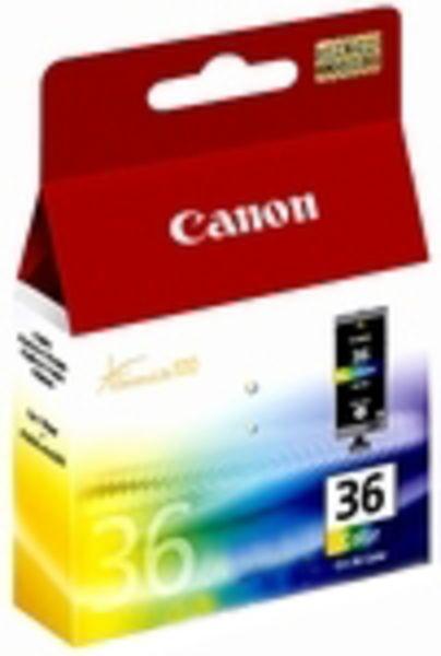 Canon Tintenpatrone CLI-36 Multipack (BK/C/M/Y)