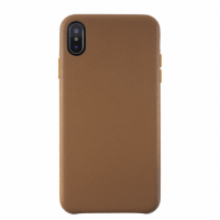 KMP Protective Leather Case iPhone X Xs Braun
