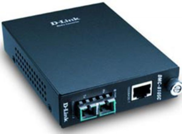 D-Link Konverter TP (RJ-45) zu LX (SC-Duplex) 1000 Mbit/s