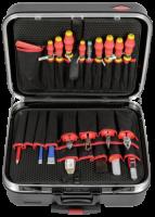 KNIPEX BIG Basic Move Elektro Werkzeugkoffer