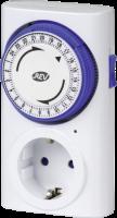 REV Zeitschaltuhr Premium mechanisch weiss